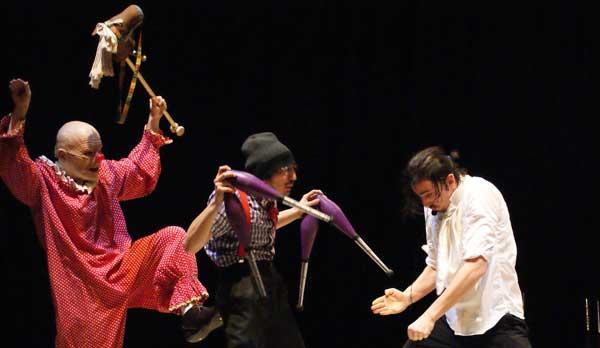 domenica 29/09/2013<br />Madame Rebiné<br />La riscossa del clown &#8211; <em>prima assoluta</em>