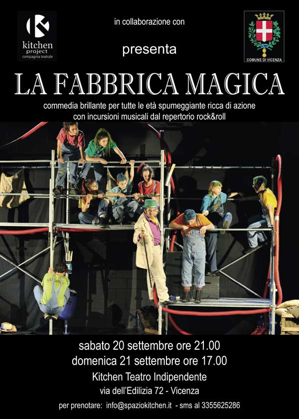 20 e 21/09/2014<br />Kitchen Project<br />La Fabbrica magica