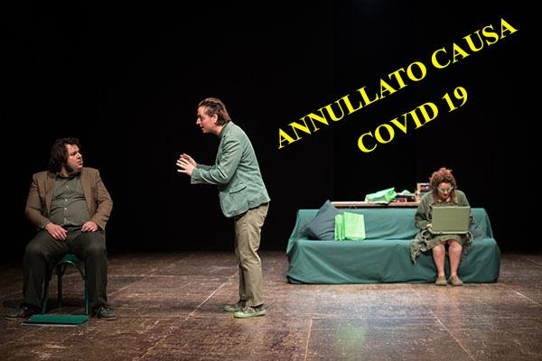 18/04/2020<br />Compagnia Nano Egidio/Marco Ceccotti<br />QUESTA SPLENDIDA NON BELLIGERANZA<br />ANNULLATO Causa Covid 19