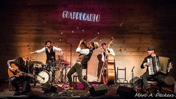 07/12/2019<br />Les Guappecarto'<br />SAMBOL-presentazione ultimo disco